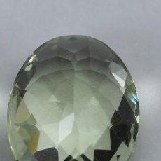 Coleccionismo de gemas: FABULOSA PRASIOLITE BRASILEÑA DE 7,85 CT. AG K 37 - APP. Lote 172093835