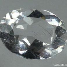 Coleccionismo de gemas: (197) MINERALES. PECTOLITA, GEMA FACETADA, BRASIL.. Lote 172240287