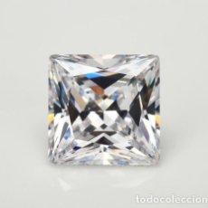 Coleccionismo de gemas: ESPECTACULAR ZAFIRO CHATHAM STAR BLANCO DE 6.65 CT (10 X 10 MM.). Lote 173101963