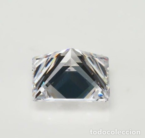 Coleccionismo de gemas: Espectacular Zafiro Chatham Star Blanco de 6.65 Ct (10 x 10 mm.) - Foto 4 - 173101963