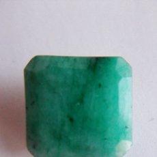 Coleccionismo de gemas: COQUETA ESMERALDA NATURAL TALLA CUADRADA. SIN TRATAMIENTO. DE COLOMBIA CON 5.0 CT.. Lote 173288358