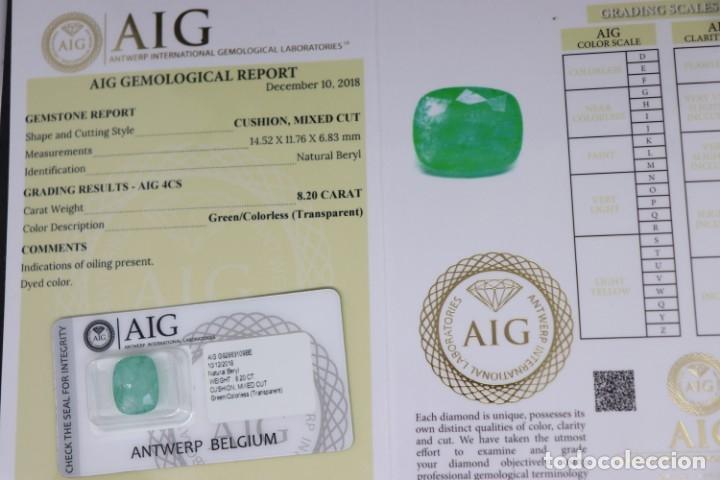 Coleccionismo de gemas: ESMERALDA, 8.20 CT - Foto 5 - 173414753