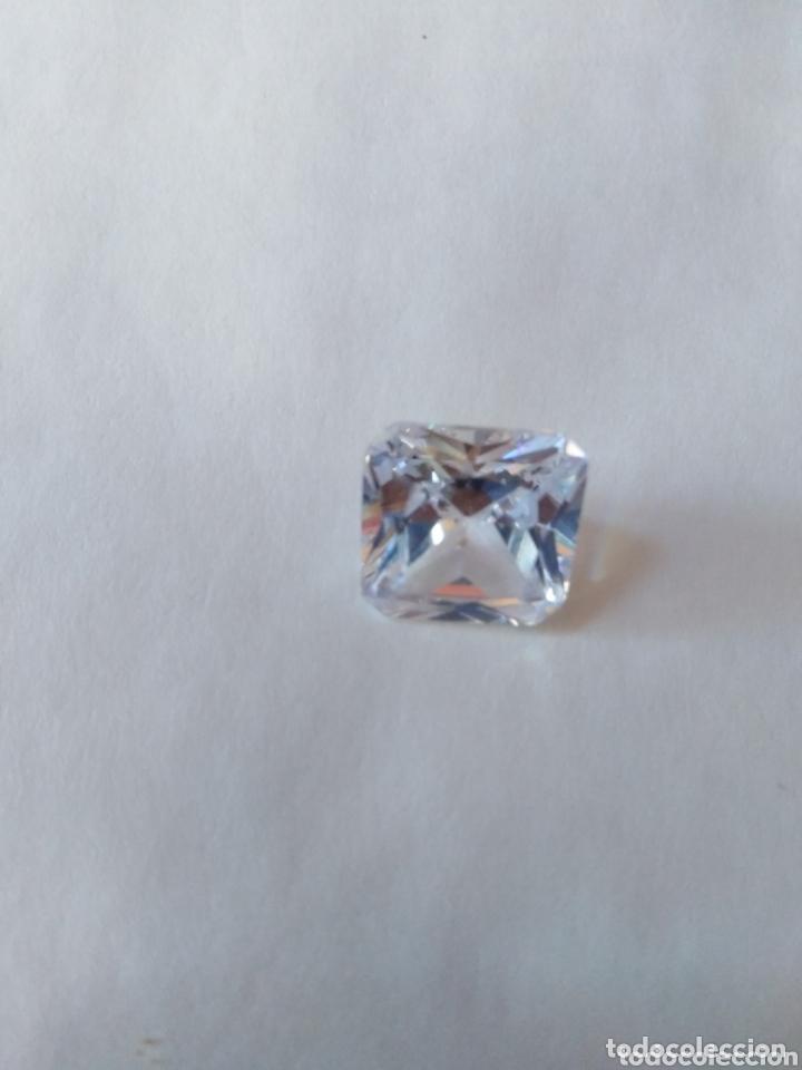 ZAFIRO NATURAL BLANCO DE 9,66 CT. (Coleccionismo - Mineralogía - Gemas)