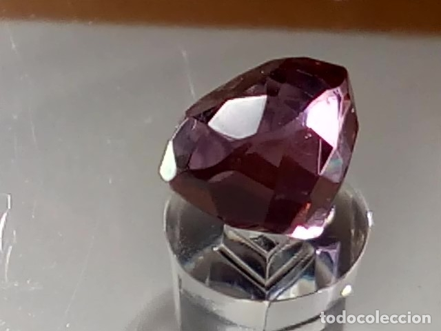 Coleccionismo de gemas: ALEJANDRITA SINTÉTICA TALLA REDONDA 4.75 Cts. - Foto 2 - 173852525