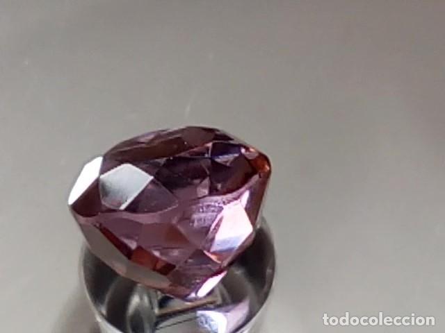 Coleccionismo de gemas: ALEJANDRITA SINTÉTICA TALLA REDONDA 4.75 Cts. - Foto 4 - 173852525