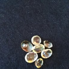 Coleccionismo de gemas: LOTE DE 7 CITRINOS NATURALES DE 41,30CT. Lote 173878332