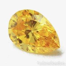 Coleccionismo de gemas: ZAFIRO NATURAL AMARILLO ORO DE 7,30 CT.. Lote 173879863