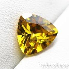 Coleccionismo de gemas: ZAFIRO NATURAL AMARILLO DE 6,6CT. Lote 173919840