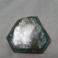 Coleccionismo de gemas: GRAN AGUAMARINA NATURAL VERDE. Lote 174286223