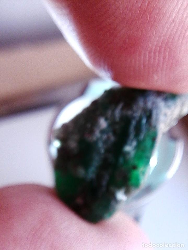Coleccionismo de gemas: Esmeralda en Bruto Natural de la Mina Chivor de Colombia con 30.00 Ct. - Foto 2 - 192105170