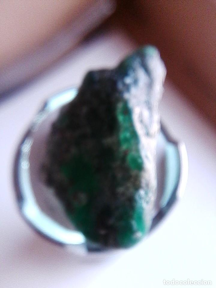 Coleccionismo de gemas: Esmeralda en Bruto Natural de la Mina Chivor de Colombia con 30.00 Ct. - Foto 3 - 192105170
