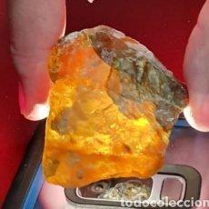 Coleccionismo de gemas: MAGNIFICA ESFALERITA PICOS DE EUROPA. Lote 175316493