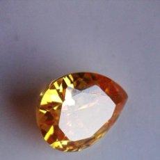 Coleccionismo de gemas: PRECIOSO CIRCÓN LIGHT NATURAL AMARILLO DE CAMBOYA CON 7.5 CT.. Lote 175735274