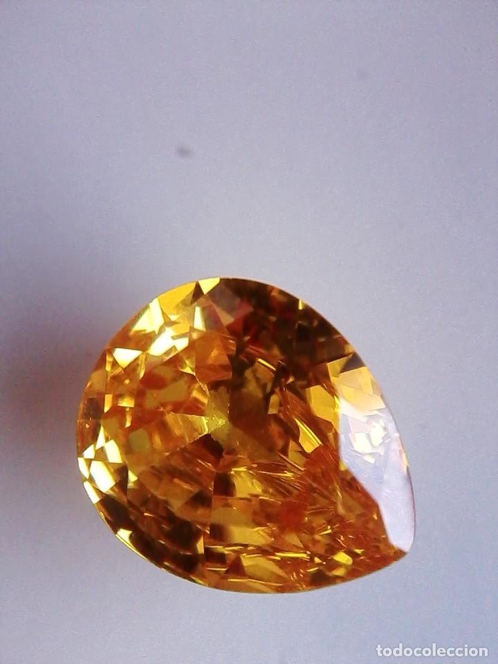 Coleccionismo de gemas: Precioso Circón Light Natural Amarillo de Camboya con 7.5 Ct. - Foto 2 - 175735274