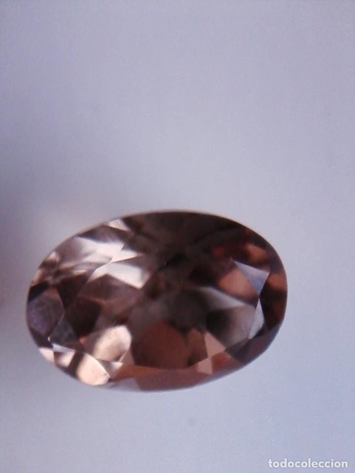 Coleccionismo de gemas: Bonita Talla de Cuarzo Natural Oval Ahumado Procedente de Sudáfrica con 13.70 Ct. - Foto 2 - 176299058