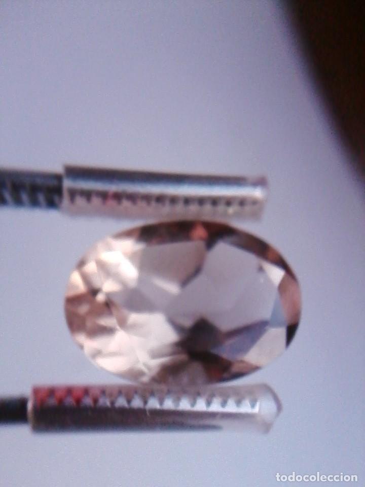 Coleccionismo de gemas: Bonita Talla de Cuarzo Natural Oval Ahumado Procedente de Sudáfrica con 13.70 Ct. - Foto 4 - 176299058