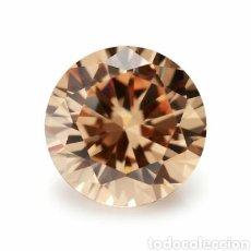 Collectionnisme de gemmes: ZAFIRO COLOR CHAMPAGNE DE 6,40CT.. Lote 190619575