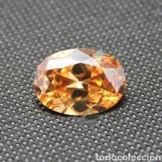 Coleccionismo de gemas: ZAFIRO NATURAL COLOR CHAMPAGNE DE 8,90CT. Lote 176456467