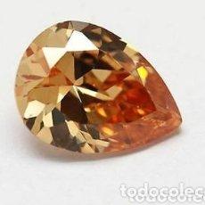 Collectionnisme de gemmes: ZAFIRO COLOR CHAMPAGNE DE 9,10CT.. Lote 190616961