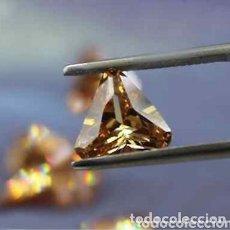 Coleccionismo de gemas: ZAFIRO NATURAL COLOR CHAMPAGNE DE 5,70CT. .. Lote 176457080