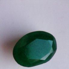 Coleccionismo de gemas: ESMERALDA NATURAL SIN TRATAMIENTOS DE COLOMBIA.TALLA OVAL CON 5.00 CT.. Lote 177192587