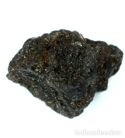 Coleccionismo de gemas: Tanzanita Natural en Roca de la Rep. de Tanzania con 29.55 Ct CERTIFICADA. - Foto 3 - 177652317