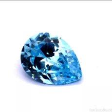 Coleccionismo de gemas: ZAFIRO MAR AZUL CREADO SISTEMA CHATHAM DE 4,20CT.. Lote 178043049