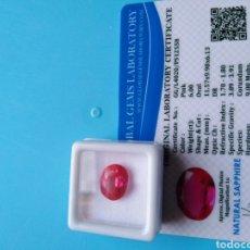 Coleccionismo de gemas: ZAFIRO NATURAL COLOR ROSA DE 6,00 CT.. Lote 178243680