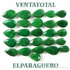Coleccionismo de gemas: LOTE DE ESMERALDAS TOTAL 285,80 KILATES CON CERTIFICADO KGCL-MEDIDA APROXIMADA DE UNA 2 CENTI -Nº4. Lote 178915827