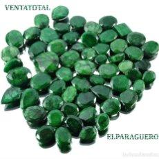 Coleccionismo de gemas: LOTE DE ESMERALDAS TOTAL 285,80 KILATES CON CERTIFICADO KGCL-MEDIDA APROXIMADA DE UNA 2 CENTI -Nº5. Lote 178915842