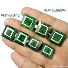 Coleccionismo de gemas: LOTE DE ESMERALDAS TOTAL 125,10 KILATES CON CERTIFICADO KGCL-MEDIDA APROXIMADA DE UNA 2 CENTI -Nº6. Lote 178915853