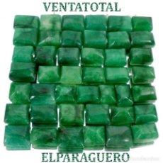 Coleccionismo de gemas: LOTE DE 43 ESMERALDAS DE COLOMBIA 480 KILATES MEDIDA APROXIMADA DE UNA 1,50 CENTIMETROS -Nº7. Lote 178916571