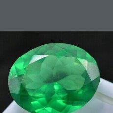 Coleccionismo de gemas: ESMERALDA NATURAL DE 19, 95,CT. Lote 178978977