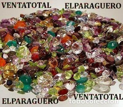 VENTATOTAL - LOTES DE GEMAS ZAFIROS - RUBIS - AGUAMARINAS - ESMERALDAS - GRANATES -TURMALINAS ETC-N3 (Coleccionismo - Mineralogía - Gemas)