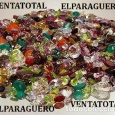 Coleccionismo de gemas: VENTATOTAL - LOTE DE GEMAS ZAFIROS - RUBIS - AGUAMARINAS - ESMERALDAS - GRANATES -TURMALINAS ETC-N3. Lote 179118836