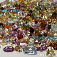 Coleccionismo de gemas: VENTATOTAL - LOTES DE GEMAS ZAFIROS - RUBIS - AGUAMARINAS - ESMERALDAS - GRANATES - TOPACIOS ETC-N2. Lote 179119198