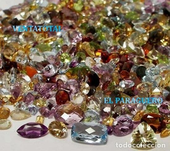 VENTATOTAL - LOTES DE GEMAS ZAFIROS - RUBIS - AGUAMARINAS - ESMERALDAS - GRANATES - TOPACIOS ETC-N5 (Coleccionismo - Mineralogía - Gemas)