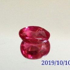 Coleccionismo de gemas: RUBÍ DE MOZAMBIQUE TALLA OVAL 0 97 CTS.. Lote 179151811