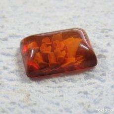 Coleccionismo de gemas: PRECIOSO AMBAR BALTICO TALLADO GENUINO PERFECTO PARA JOYERIA. Lote 180122987