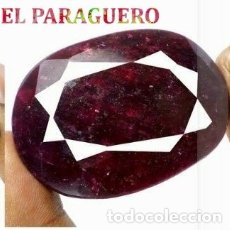 Coleccionismo de gemas: DELICIOSO RUBI ROJO SANGRE DE BIRMANIA DE 420 KILATES - MEDIDA 5,5 X 4,0 X 1,6 CENTIMETROS -Nº26. Lote 180149601