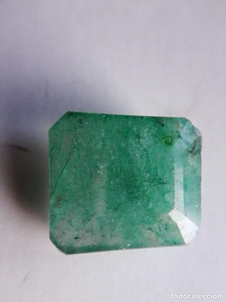Coleccionismo de gemas: Bonita Esmeralda Natural Sin Tratamiento de Colombia Verde muy clara. con 8.50 Ct. - Foto 3 - 180181847