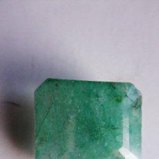 Coleccionismo de gemas: BONITA ESMERALDA NATURAL SIN TRATAMIENTO DE COLOMBIA VERDE MUY CLARA. CON 8.50 CT.. Lote 180181847