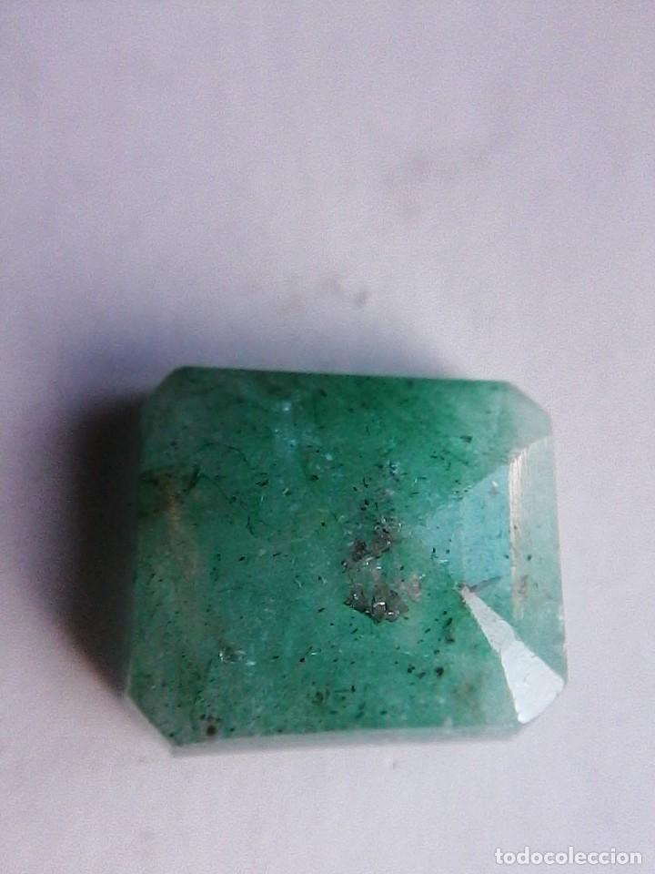 Coleccionismo de gemas: Bonita Esmeralda Natural Sin Tratamiento de Colombia Verde muy clara. con 8.50 Ct. - Foto 4 - 180181847