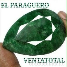 Coleccionismo de gemas: FANTASTICA ESMERALDA COLOMBIANA DE 241 KILATES MEDIDA 5,4 X 4,0 X 1,5 CENTIMETROS -Nº41. Lote 180210393