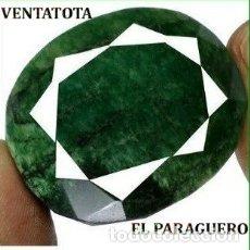 Coleccionismo de gemas: FANTASTICA ESMERALDA COLOMBIANA DE 261 KILATES MEDIDA 4,2 X 3,5 X 2,1 CENTIMETROS -Nº43. Lote 180210886