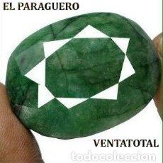 Coleccionismo de gemas: FANTASTICA ESMERALDA COLOMBIANA DE 191 KILATES MEDIDA 4,1 X 3,0 X 1,8 CENTIMETROS -Nº44. Lote 180210965