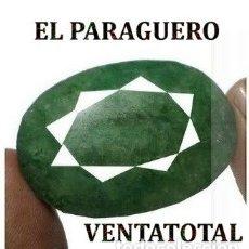 Coleccionismo de gemas: FANTASTICA ESMERALDA COLOMBIANA DE 162 KILATES MEDIDA 4,4 X 3,1 X 1,4 CENTIMETROS -Nº47. Lote 180211510