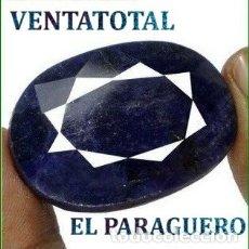 Coleccionismo de gemas: ENORME ZAFIRO DE TAILANDIA DE 278 KILATES MEDIDA 4,3 X 3,1 X 1,7 CENTIMETROS - Nº49. Lote 180211866