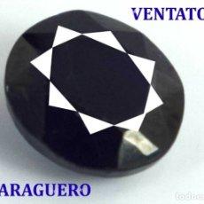Coleccionismo de gemas: GIGANTE ZAFIRO DE BIRMANIA DE 1875 KILATES MEDIDA 8,1 X 6,4 X 3,8 CENTIMETROS - Nº18. Lote 180291116