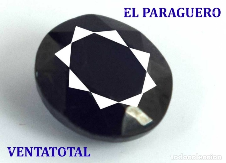 GIGANTE ZAFIRO DE MADAGASCAR DE 1585 KILATES MEDIDA 7,5 X 5,9 X 3,7 CENTIMETROS - Nº19 (Coleccionismo - Mineralogía - Gemas)